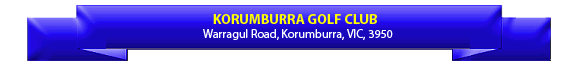 Korumburra Golf Club